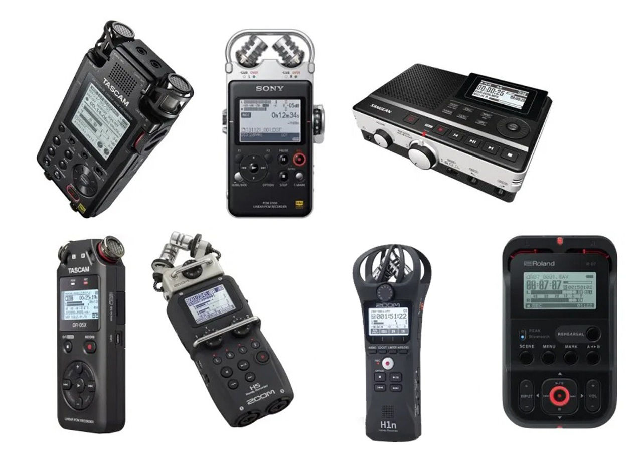 Picture for category Audio Recorders