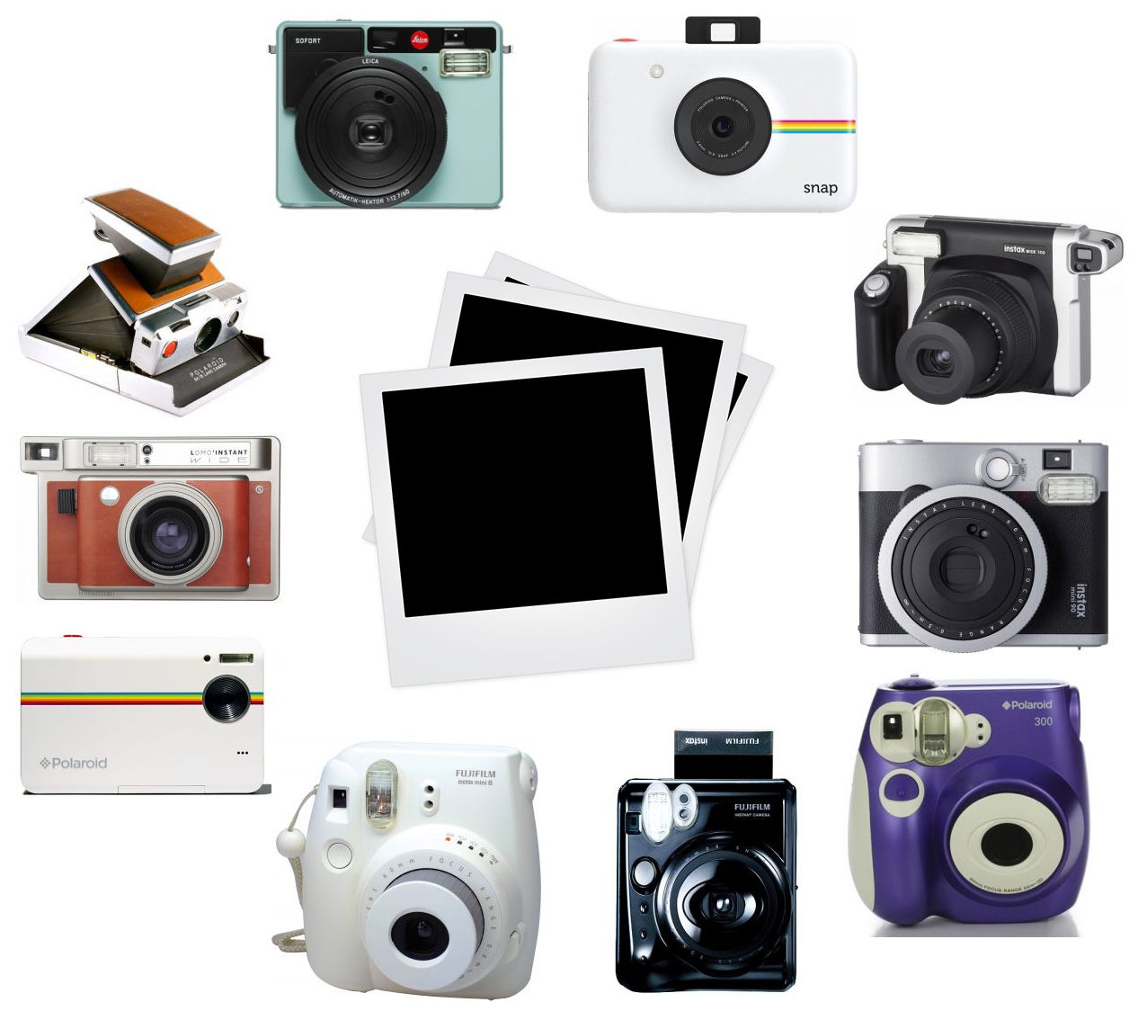 Picture for category Instant Cameras