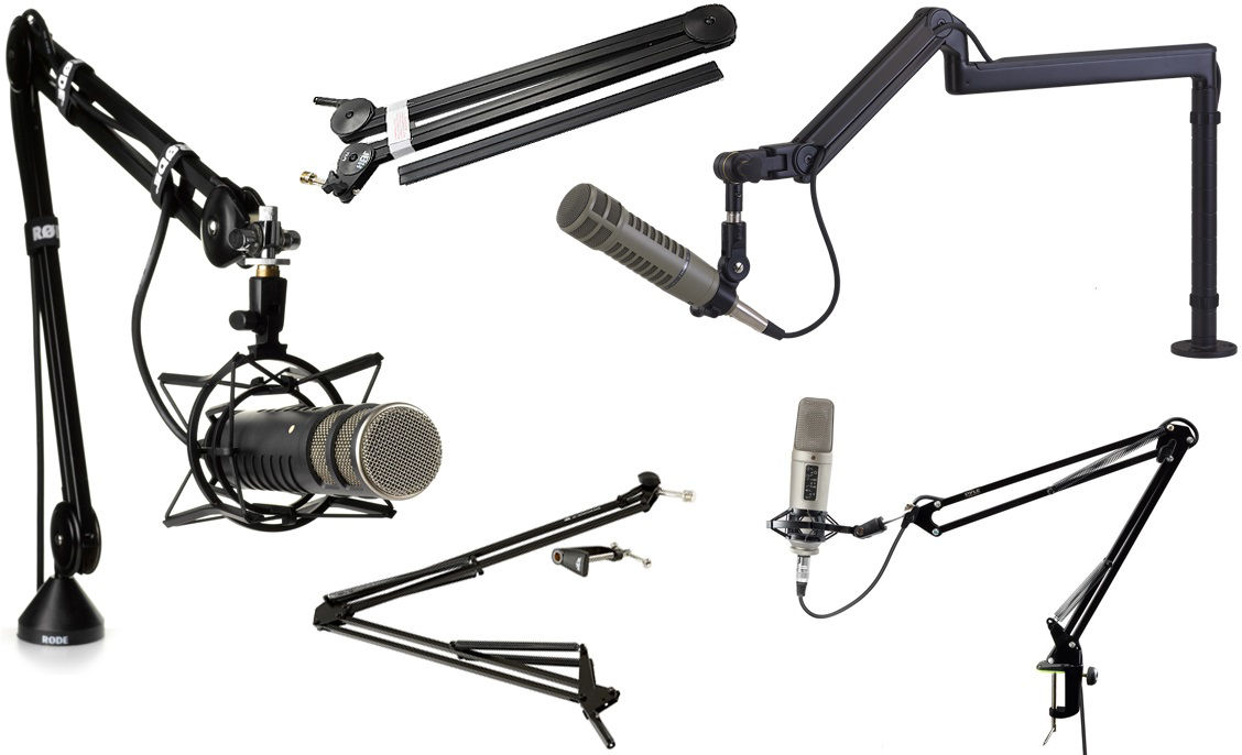 Picture for category Microphone Mounts