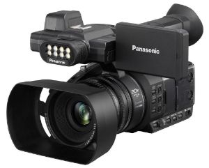 Picture of Panasonic HC-PV100GW Professional Camcorder (Black)
