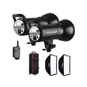 Picture of Godox Professional Flash Light Kit SK - 400 II