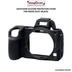 Picture of easyCover Silicone Protection Cover for Nikon Z6/Z7 (Black)