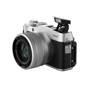 Picture of FUJIFILM X-A7 Mirrorless Digital Camera with 15-45mm Lens (Silver)