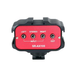 Picture of Saramonic SR-AX100 Passive 2-Channel Audio Adapter for DSLR Cameras