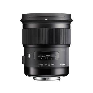 Picture of Sigma 50mm f/1.4 DG HSM Art Lens for Nikon F
