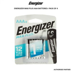 Picture of Energizer Max Plus AAA Battery (4-Pack)