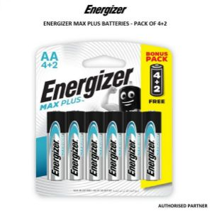 Picture of Energizer Max Plus AAA Battery (4+2-Pack)