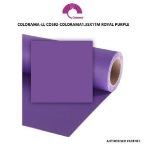 Picture of Colorama Paper Background 1.35 x 11m Royal Purple