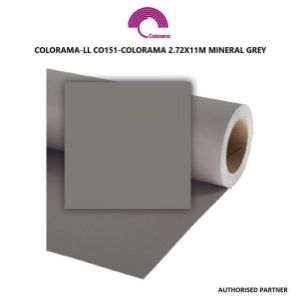 Picture of Colorama 2.72 x 11m Mineral Grey
