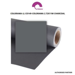 Picture of Colorama 2.72 x 11m Charcoal