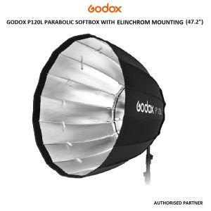 """Picture of Godox P120 LE 12cm / 47"""" Parabolic Soft Box - Elinchrom Mount"""