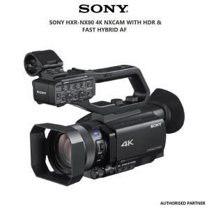 Picture of Sony HXR-NX80 4K NXCAM with HDR & Fast Hybrid AF