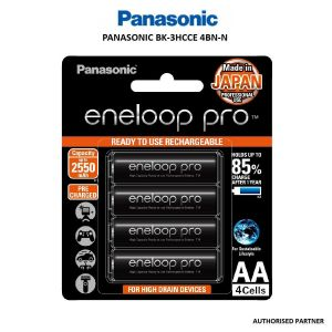 Picture of Panasonic eneloop pro AA Rechargeable Battery, Pack of 4
