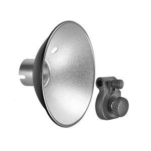 Picture of Godox AD-S6 Portable Umbrella-type Reflector For Witstro AD180 AD360(Silver+Black)