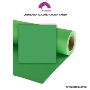 Picture of Colorama Paper Background 1.35 x 11m Chromagreen