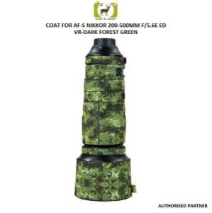 Picture of Coat For AF-S NIKKOR 200-500mm f/5.6E ED VR (DARK FOREST GREEN)