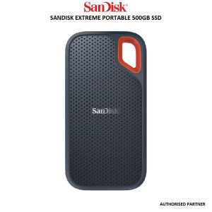 Picture of SanDisk 500GB SSD USB-C, USB 3.1, for PC & Mac & IP55 Rated