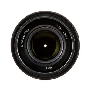 Picture of Sony E 50mm f/1.8 OSS Lens (Black)