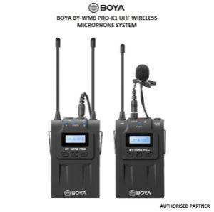 Picture of BOYA by-WM8 Pro-K1 UHF Wireless Microphone System