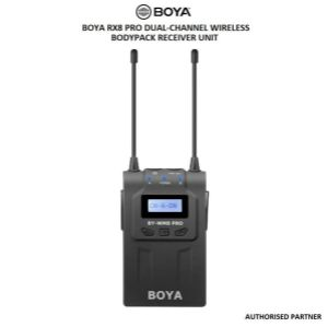 Picture of BOYA RX8 Pro Dual-Channel Wireless Bodypack Receiver Unit
