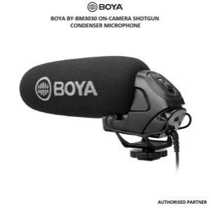 Picture of BOYA BY-BM3030 On-Camera Shotgun Condenser Microphone