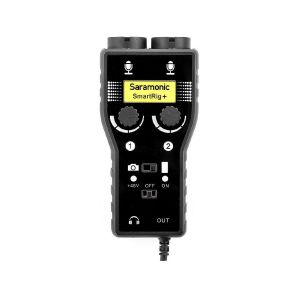 Picture of Saramonic SmartRig+ 2-Channel XLR Microphone Audio Mixer