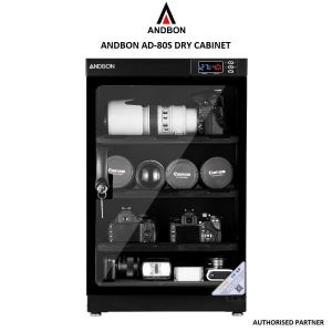 Picture of Andbon AD-80S 80 Litres CNC Humidity Control Dry Cabinet