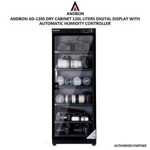 Picture of Andbon AD-120S Electronic Dry Cabinet , 120 L , Black