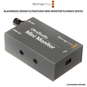 Picture of Blackmagic Design UltraStudio Mini Monitor Playback Device