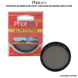 Picture of Photron 58.0MM SLIM CIR-PL Circular Polarizer Lens Filter