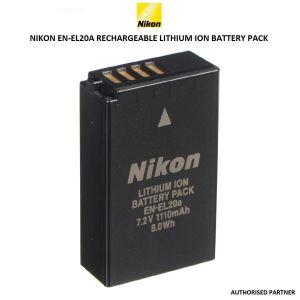 Picture of Nikon EN-EL20a Rechargeable Lithium-Ion Battery Pack (7.2V, 1110mAh)