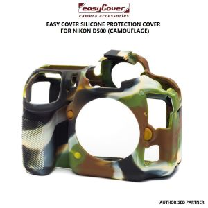 Picture of easyCover Silicone Protection Cover for Nikon D500 (Camouflage)