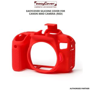 Picture of EasyCover Silicone Cover for Canon 800D Camera (Red)