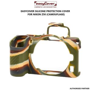 Picture of EasyCover Silicone Protection Cover for Nikon Z50 (Camouflage)