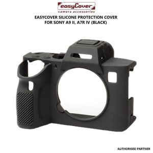 Picture of easyCover Silicone Protection Cover for Sony a9 II, a7R IV (Black)