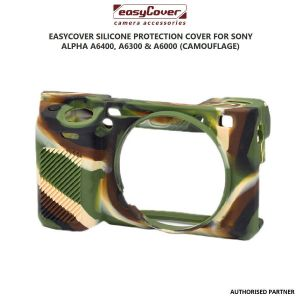 Picture of easyCover Silicone Protection Cover for Sony A6000, A6300 and A6400 (Camouflage)