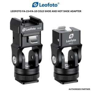 Picture of Leofoto FA-15+FA-10 Cold Shoe and Hot Shoe Adapter
