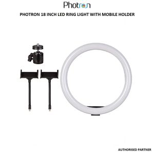 Picture of Photron Professional 18 Inch LED Ring Light with Mobile Holder