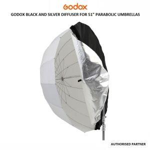 "Picture of Godox Black and Silver Diffuser for 51"" Parabolic Umbrellas"