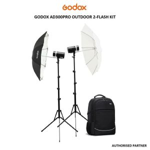 Picture of Godox AD300pro Outdoor 2-Flash Kit