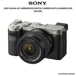 Picture of Sony Alpha a7C Mirrorless Digital Camera with 28-60mm Lens (Silver)