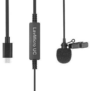 Picture of Saramonic LavMicro-UC Omnidirectional Lavalier Mic for USB Type-C Devices