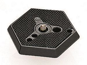 """Picture of Manfrotto 030-14 Adapter Plate 1-4"""" Normal"""