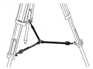 Picture of Manfrotto 537SPRB- Mid Level Spreader