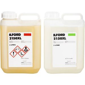 Picture of Ilford 2150 Developer/Fixer Black and White Print Chemicals Kit 2x(3 liter)