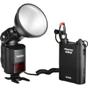 Picture of Godox AD360II-N WITSTRO TTL Portable Flash with Power Pack Kit for Nikon Cameras