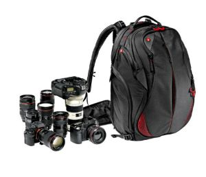 Picture of Manfrotto Pro Light camera backpack Bumblebee-230 for DSLR/camcorde