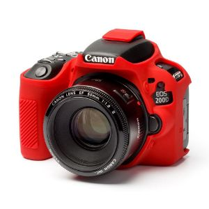 Picture of Easycover Silicon  Protection Cover 200D/250D Red
