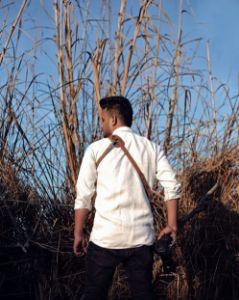 Picture of LEATHER SOLO CAMERA STRAP (Classic Tan)