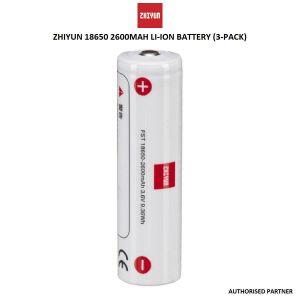 Picture of Zhiyun IMR 18650 Battery 3 Set 2600 mAH